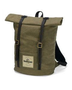 waxed canvas backpack by Northcore