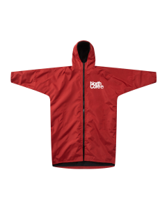 Northcore Beach Basha PRO changing robe in Red