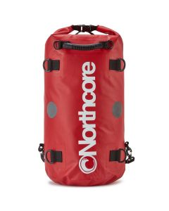 Dry Bag - 40L Backpack: Red