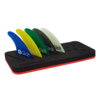 FREE WHEN YOU BUY 5 SLICE FCS / FUTURE COMPATIBLE FIN SETS